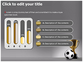 Football Champion powerpoint theme professional