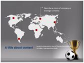 Football Champion ppt backgrounds
