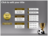 Football Champion ppt themes template
