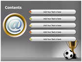 Football Champion ppt templates