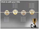 Football Champion power Point templates