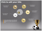 Football Champion background PowerPoint Templates