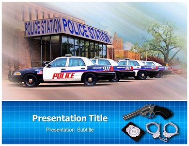 Police Station Powerpoint Templates
