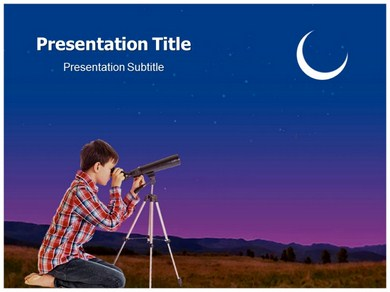 Telescope Parts Powerpoint Templates