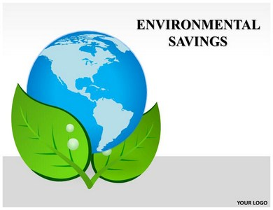 Environmental Savings Powerpoint Templates