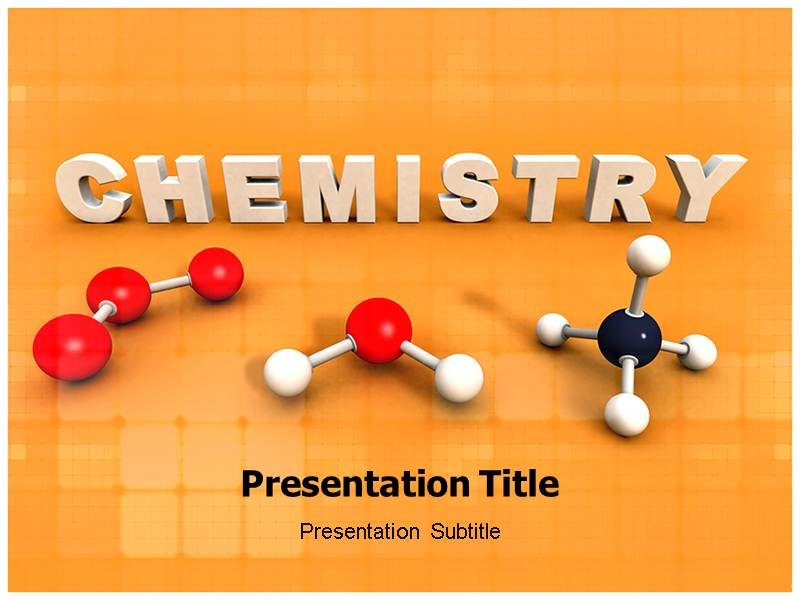 Chemistry Powerpointppt Templates Ppt Template For Chemistry