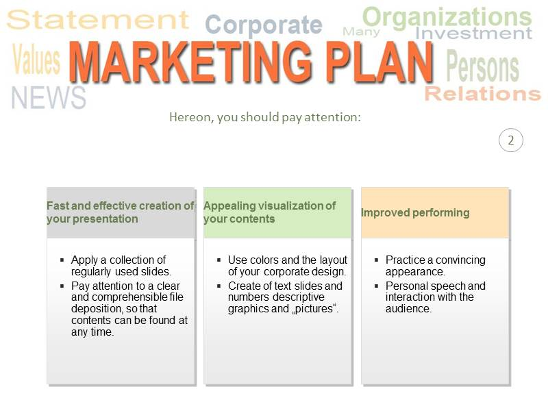 Free marketing plan template accmission Image collections