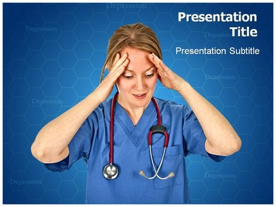 Chronic Fatigue Syndrome Powerpoint Templates