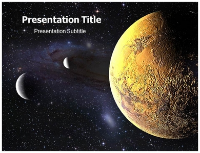 Free Outer Space Powerpoint Template