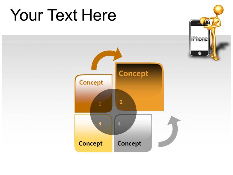 Iphone Powerpoint Templates