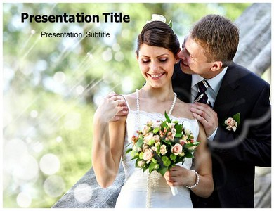 Sweetheart Rose Powerpoint Templates