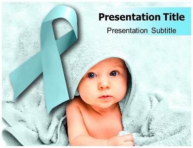 Baby Cancer Powerpoint Templates