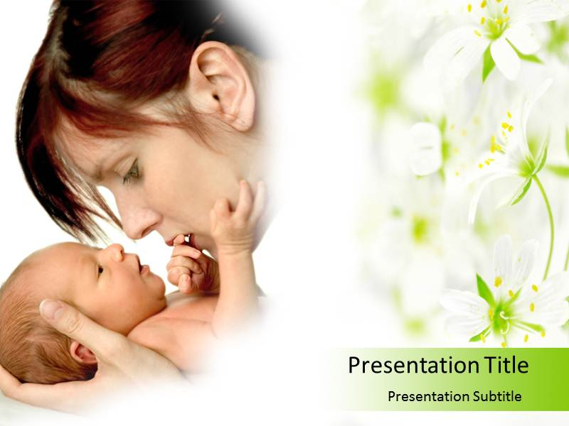 Baby care Tips Powerpoint Templates