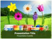 Plant Nutrition powerPoint template