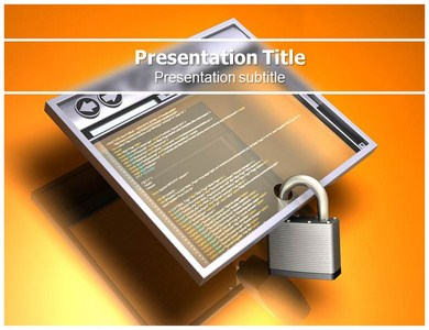 Network Security Powerpoint Templates