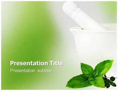 Homeopathy Treatment Powerpoint Templates