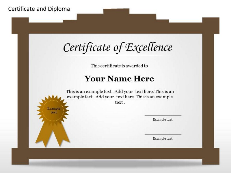 employee recognition certificate template powerpoint .