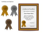 Certificat and Diploma Chart powerpoint download
