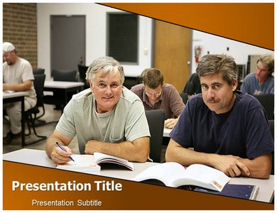 Adult Education Importance  Powerpoint Templates