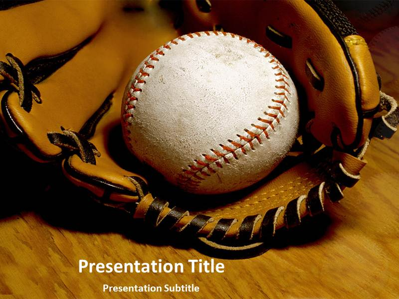 baseball sports powerpoint templates | baseball sports ppt, Powerpoint templates