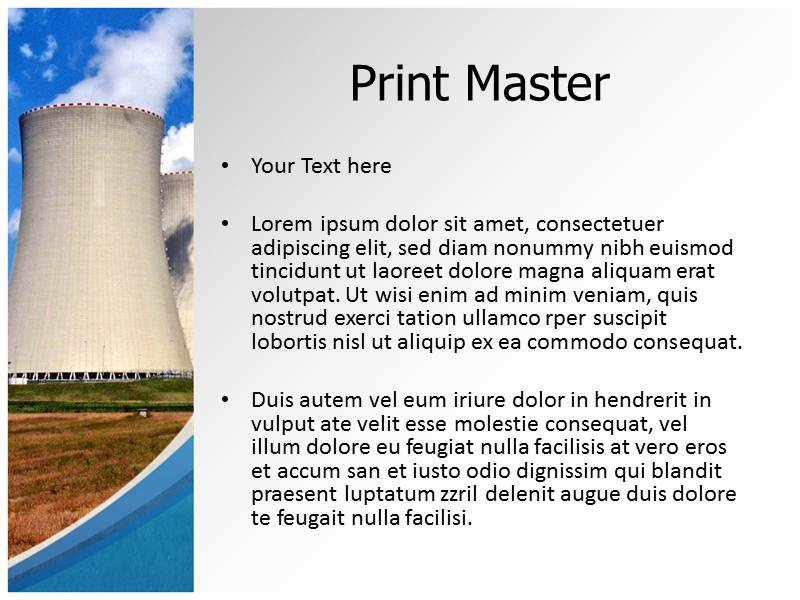 Nuclear industry pptpowerpoint template nuclear powerpoint download toneelgroepblik Choice Image