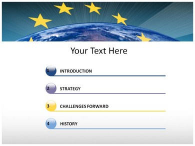 european-union powerpoint templates | powerpoint presentation on, Modern powerpoint