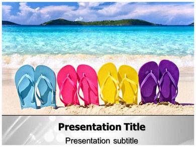 Footwear 1 Powerpoint Templates