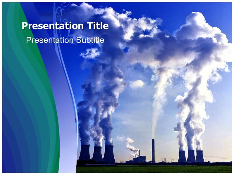 Air Pollution 2 Powerpoint Templates