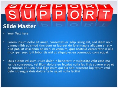 Support 1 Powerpoint Templates