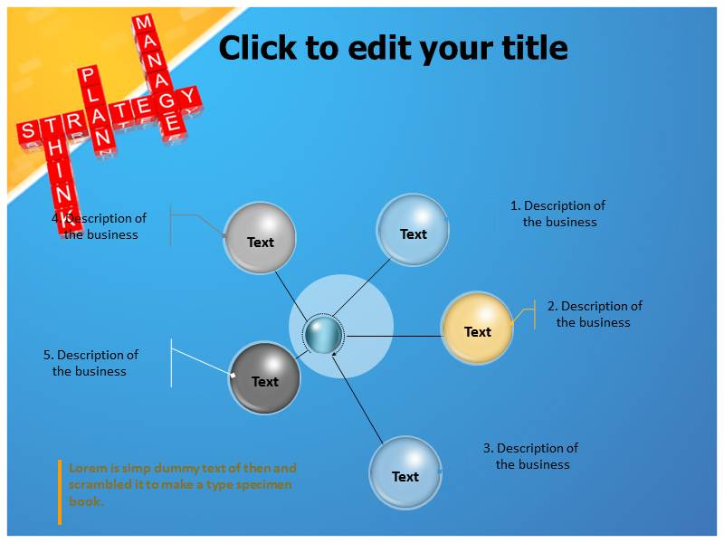 Strategy Pattern Powerpoint Templates