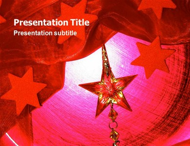 Christmas Star Powerpoint Templates