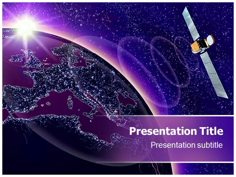 Satellite Communication Powerpoint Templates
