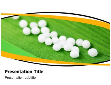 Homeopathy Pills Powerpoint Templates