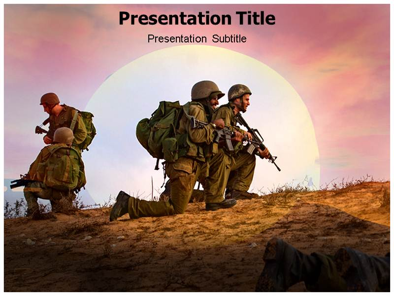 army rangers powerpoint templates | army ppt templates | army, Modern powerpoint