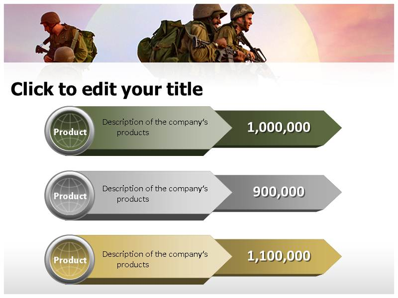 Army rangers powerpoint templates army ppt templates army my toneelgroepblik Image collections