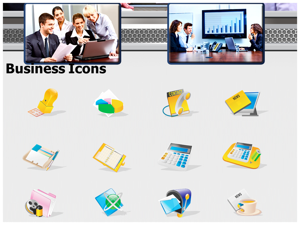 Business Meeting Invitation Powerpoint Templates