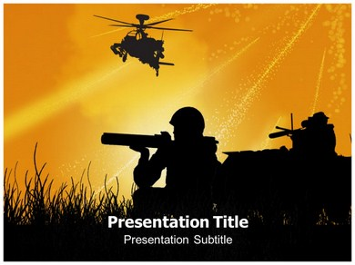 War Effect Powerpoint Templates