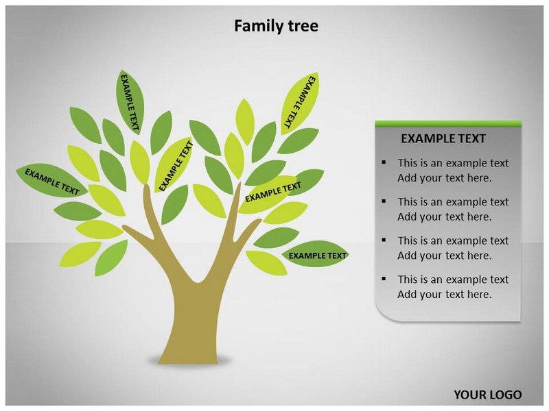 family tree template: family tree templates powerpoint, Modern powerpoint