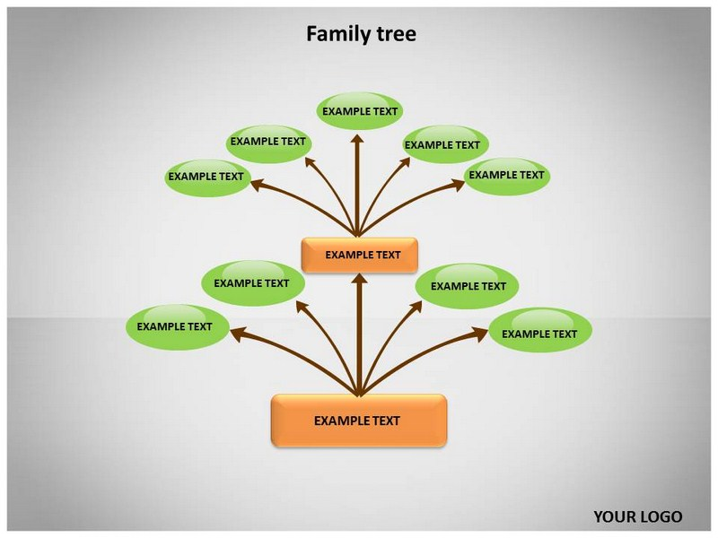 family tree template ppt