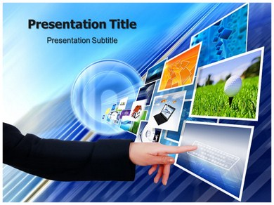new technology inventions powerpoint templates | powerpoint, Powerpoint templates