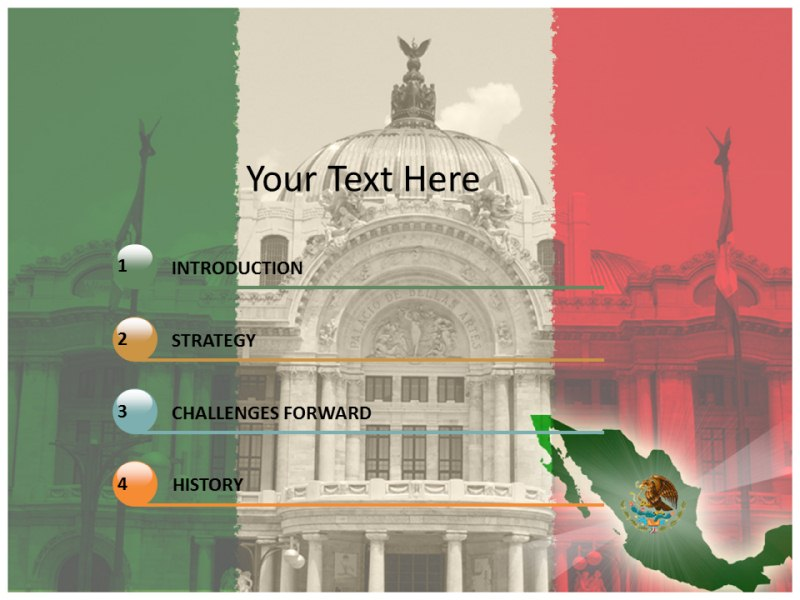 Mexico city ppt powerpoint templates mexico powerpoint download toneelgroepblik Gallery