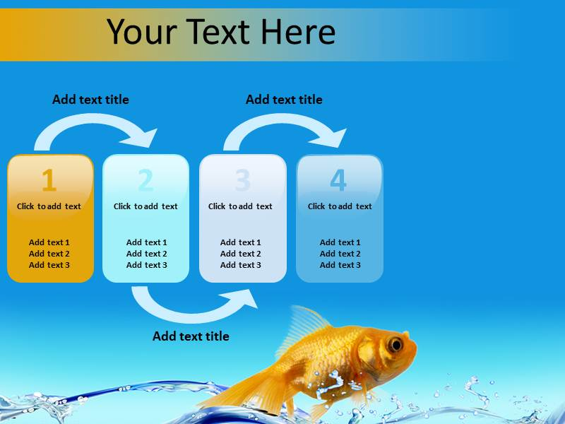 Water Fish Powerpoint Templates
