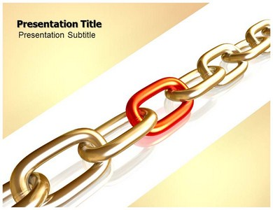 Rusty Chain Powerpoint Templates