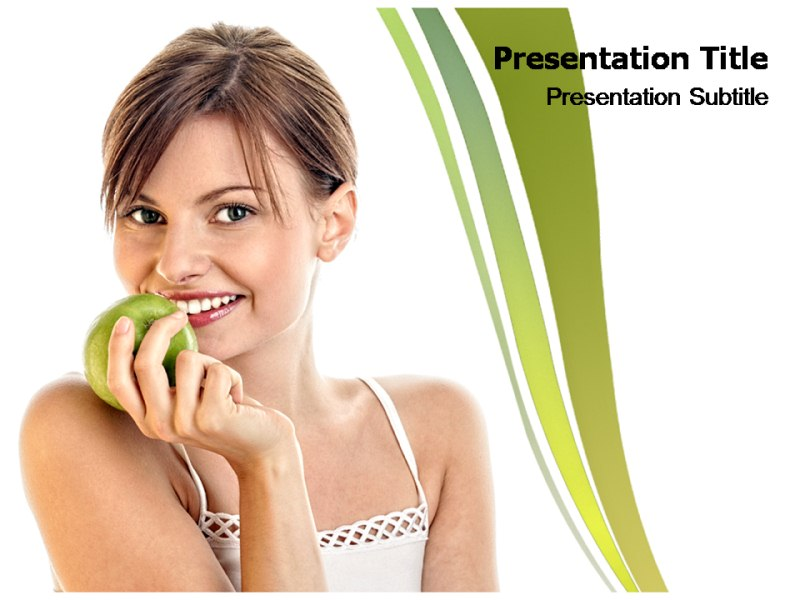 Healthy Food Pptpowerpoint Template Healthy Food Powerpoint