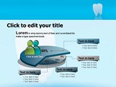 Teeth Chattering power point background graphics