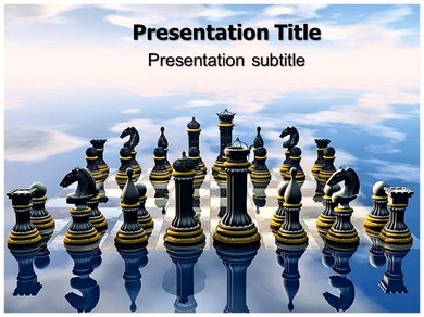 Chess 1 Powerpoint Templates