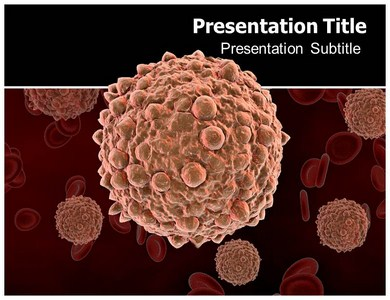 Powerpoint Ppt Templates Backgrounds For Immune Cells