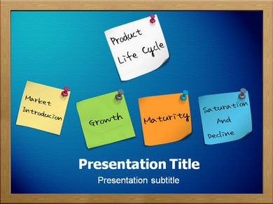 Product Lifecycle Powerpoint Templates