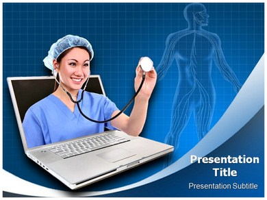 Online Medical Help Powerpoint Templates