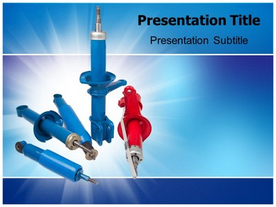 Shock Absorbers Powerpoint Templates